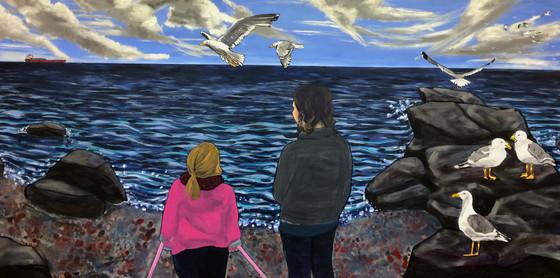 Lake Superior mural