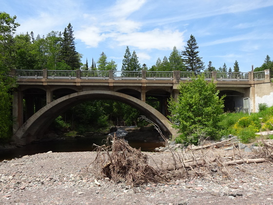 Hwy 61 - French River bridge
