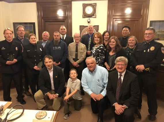 911 Lifesaver Awards - Caleb