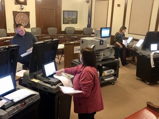 voting equipment test