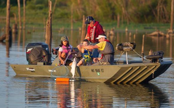Get hooked on fishing with mdc free fishing days june 9 for Mo fishing license