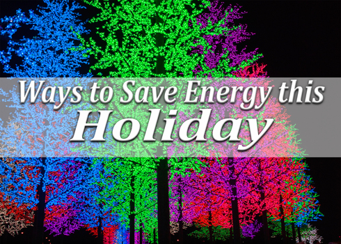 Ways to Save Energy this Holiday picture