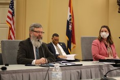 Commissioner Zora Mulligan and Deputy Commissioner Leroy Wade.