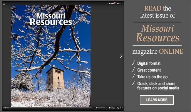Winter issue of Missouri Resources magazine