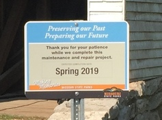 maintenance and repair sign
