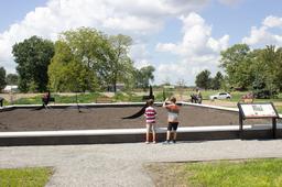WWI memorial garden