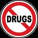 Drug Stop Sign