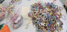 bracelet pile