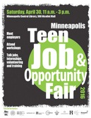 Teen Job and Opportunity Fair