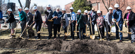 Image of Phillips Aquatics Center groundbreaking