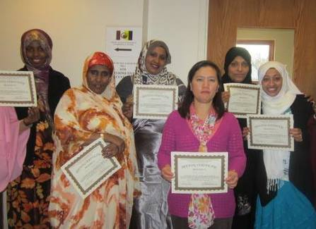 Graduates of SEARCH's Childcare Provider Training Program.