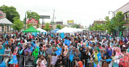 Image of residence at the 2017 Somali Independence Day celebration