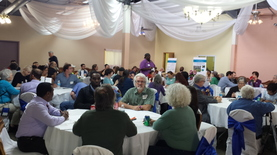 Image of participants at a neighborhoods 2020 meeting