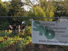 Image of the Sheridan Garden