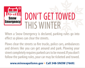 Image of snow emergency flyer