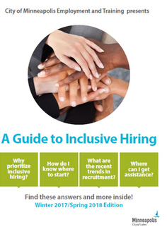 photo of the hiring guide to inclusive hiring