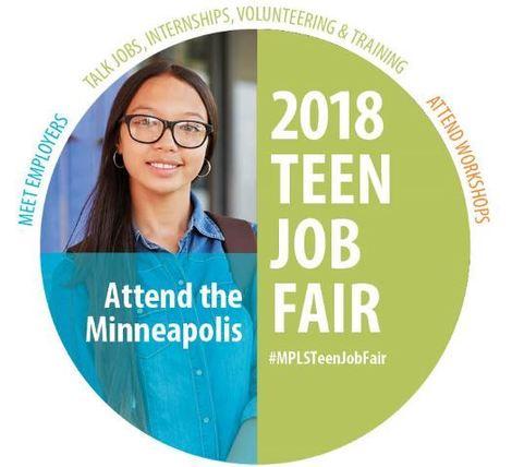 photo of the teen job fair logo