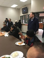 March 2, 2018 Police Officer meets with Southeast Asian Residents for Community Dialogue
