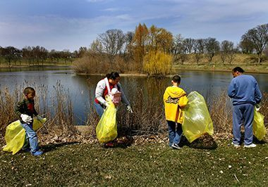 Earthday cleanup