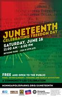 Juneteenth 2018 poster