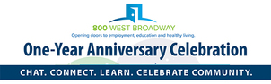 photo of 800 west broadway logo