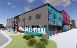 photo rendering of Mercado Central Mural