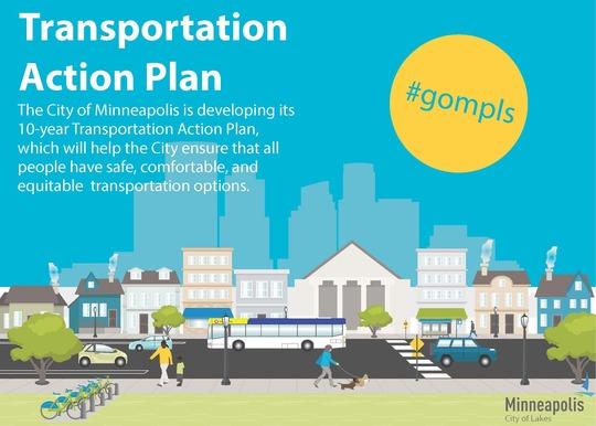 Photo of the Transportation Action Plan Illustration