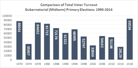 Minneapolis primary election voter turnout