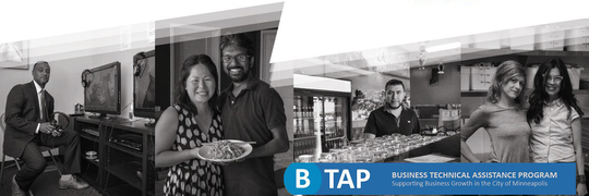 Photo of business owners who used B-TAP services