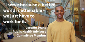 Why I Serve 2018 boards and commissions, commissioner Jerome Evans quote