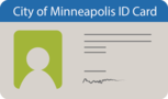 Minneapolis ID card illustration icon