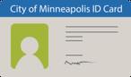 Minneapolis ID card illustration icon