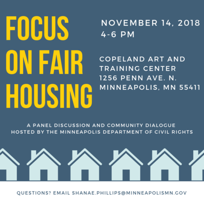 Focus on Fair Housing Image of Flyer