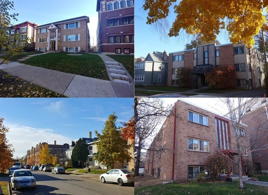 multi family homes using the 4d program photo collage