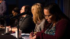 2018 Community Connections Conference panelists Terri Banaszewski, Andrea Jenkins, Velma Korbel, Patina Park and Jennifer Srey