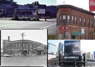 Mpls Music venues photo collage