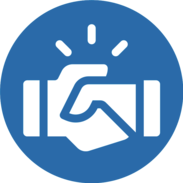 eSupplier icon image of handshake