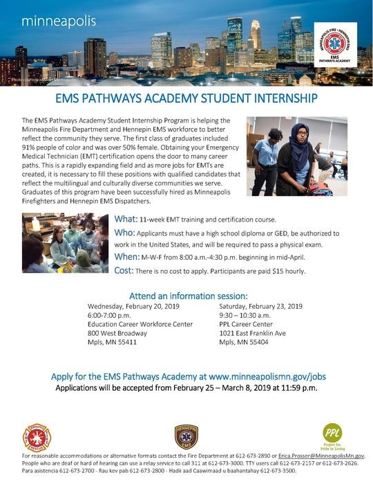 MFD EMT Academy dates