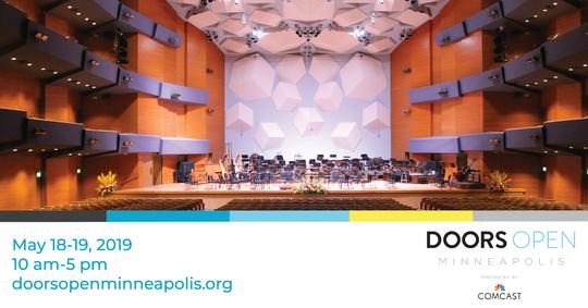 Doors Open Minneapolis -- Orchestra Hall