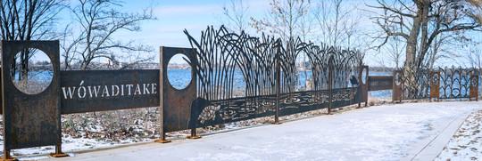 Bde Maka Ska art installation