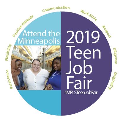 Minneapolis Teen Job Fair logo