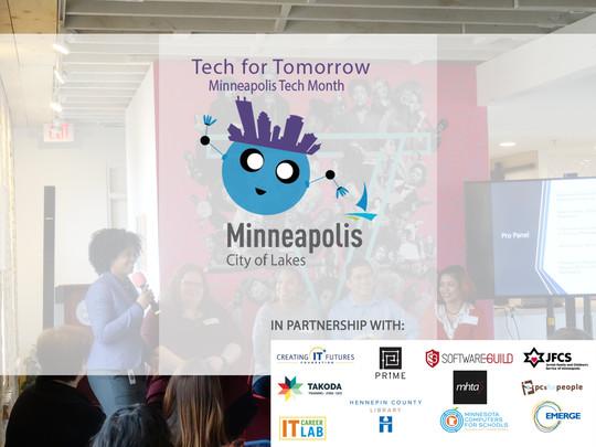 Minneapolis Tech Month logo