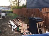 Yard rubbish code violation