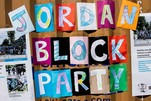 Jordan Week of Kindness 2018 Jordan Block Party sign
