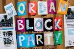 Jordan Week of Kindness 2018 Jordan Block Party sign