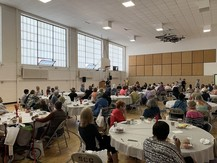 Crowd at South Minneapolis Healthy Aging Fair June 5 2019