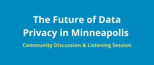 Data Privacy Listening Session