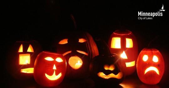 image of jack-o-lanterns