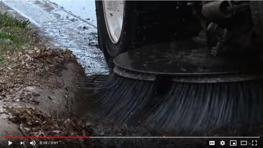street sweeping image