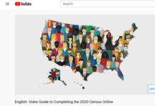 Census Bureau video guide to completing the census